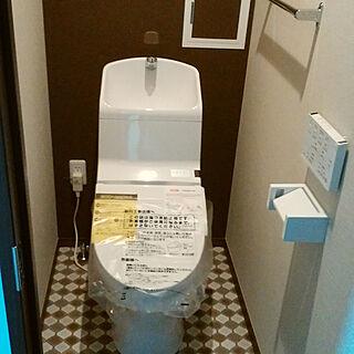 バス/トイレ/建築中の一枚/賃貸併用/TOTOトイレ/パルコンのインテリア実例 - 2018-06-11 22:07:30