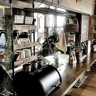 キッチンカウンター/DIY/山善収納部/山善/RC山口♡...などのインテリア実例 - 2017-02-25 17:59:42