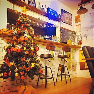 クリスマス/アメリカン雑貨/アメリカンヴィンテージ/RC楽しいです♡/明かり...などのインテリア実例 - 2019-11-09 00:04:39