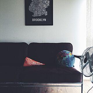 リビング/LAVAL SOFA/PAPERSKY/ジャーナルスタンダードファニチャー/journal standard Furniture...などのインテリア実例 - 2015-07-13 12:49:03