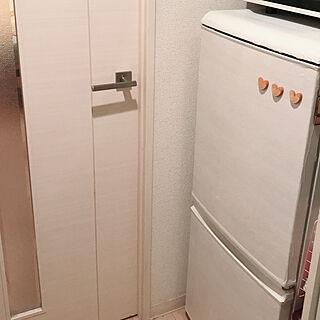 女性一人暮らし1K、木目調に関するaya155cmさんの実例写真