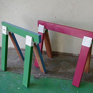 4歳のその他、ソーホースブラケット棚に関するDIY.and_Renovationsさんの実例写真