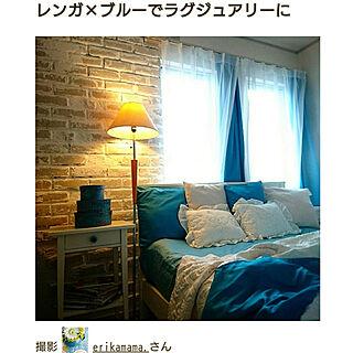 ベッド周り/海外インテリアに憧れる/海外のカラーセンスに憧れる/IKEA/自然素材...などのインテリア実例 - 2017-11-01 20:35:41