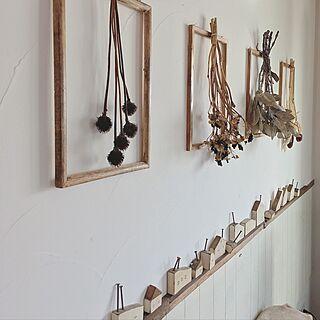 女性47歳の家族暮らし、ベニヤ板壁に関するtomoさんの実例写真