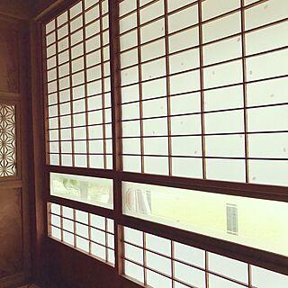 壁/天井/障子紙/日本家屋/築60年/和室...などのインテリア実例 - 2017-04-05 16:53:25