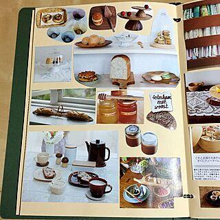 キッチン/食パン/ノート/スクラップブック/スクラップ帳のインテリア実例 - 2015-04-21 13:00:11