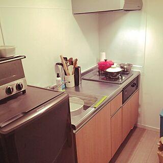 女性40歳の一人暮らし、野田琺瑯洗い桶に関するHiromiさんの実例写真