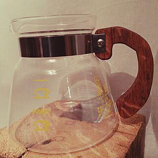 キッチン/コーヒーサーバー/コーヒー/コーノ/DIYのインテリア実例 - 2015-05-21 07:20:32