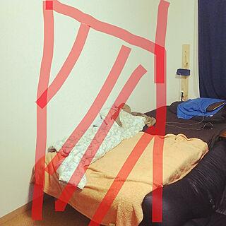 男性32歳の一人暮らし1K、設置予定に関するTOAKさんの実例写真