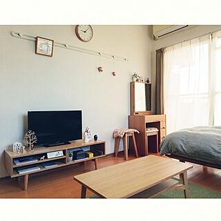 女性一人暮らし1K、一人暮らし 1K 部屋作りに関するsnorkmaidenさんの実例写真