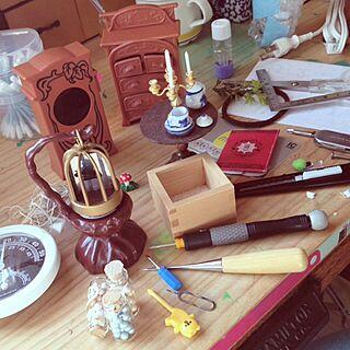 机/小さな魔女のおはなし/修理/サンタクロースな気分/エポック社のインテリア実例 - 2013-12-09 11:33:58