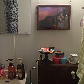 女性30歳の一人暮らし3K、外国風のバスルームに憧れてに関するaya1988さんの実例写真