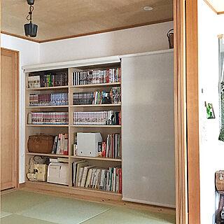 、家族住まいの「棚」についてのインテリア実例