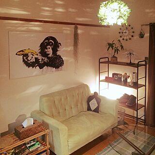 、一人暮らしの「棚」についてのインテリア実例