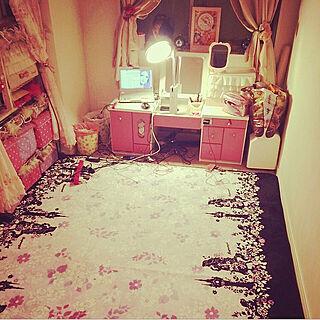 女性家族暮らし、お部屋全体に関するShieoさんの実例写真