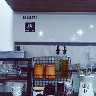 女性40歳の家族暮らし3LDK、調味料棚に関するnaomamaさんの実例写真