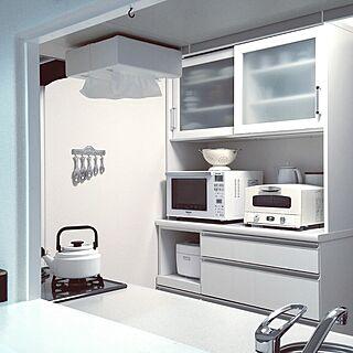 キッチン/家電収納/キッチンボード/キッチン家電/アラジントースター...などのインテリア実例 - 2017-05-24 18:01:51