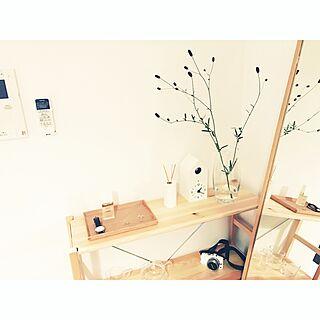 女性一人暮らし1K、Mac Book Airに関するKazukiさんの実例写真