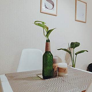 女性26歳の一人暮らし1LDK、#花瓶に関するsaosixさんの実例写真