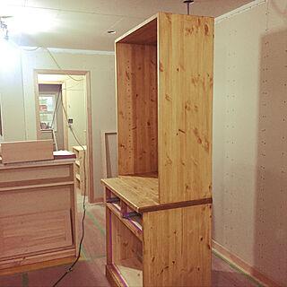 女性35歳の家族暮らし、食器棚の中に関するayuchanさんの実例写真