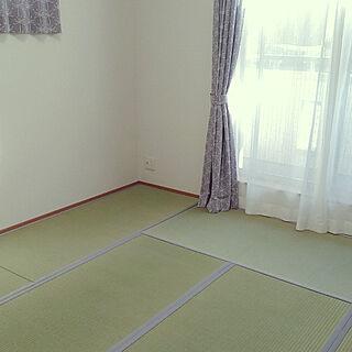女性39歳の家族暮らし4LDK、置き畳に関するchichiさんの実例写真