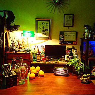男性一人暮らし1K、グラスに関するkukriさんの実例写真