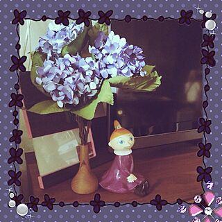女性その他、造花あじさいに関するnanさんの実例写真