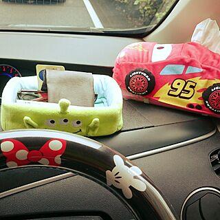 女性34歳の家族暮らし3DK、車内に関するsachiさんの実例写真