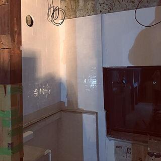 女性家族暮らし2LDK、漆喰壁に関するaskarubyさんの実例写真