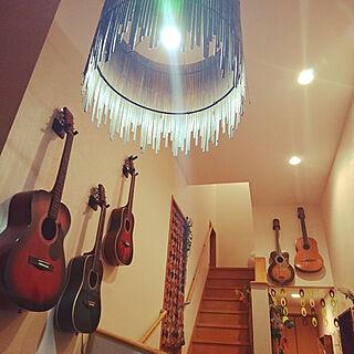 女性家族暮らし、ギターに関するtomotomoさんの実例写真