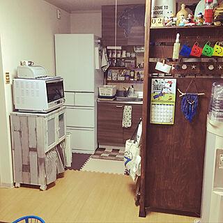 女性家族暮らし3LDK、MITSUBISHI冷蔵庫に関するno.841さんの実例写真