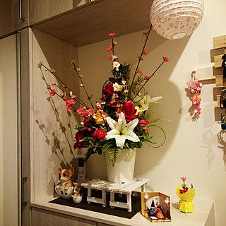 男性家族暮らし3LDK、いいね!ありがとうございます☆に関するanazuさんの実例写真