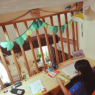 女性35歳の家族暮らし、子供部屋改造中に関するakiさんの実例写真