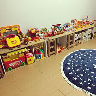 女性30歳の家族暮らし、アンパンマンのおもちゃに関するRiiiiinaさんの実例写真