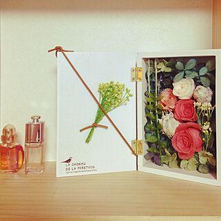 棚/手作り/DIY/お花/ハンドメイド...などのインテリア実例 - 2014-07-04 21:24:27