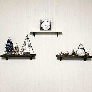 リビング/クリスマスインテリア/クリスマス雑貨/クリスマス/クリスマスディスプレイ...などのインテリア実例 - 2018-12-03 15:28:22