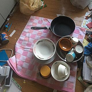 女性37歳の家族暮らし1LDK、汚部屋に関するsibataさんの実例写真