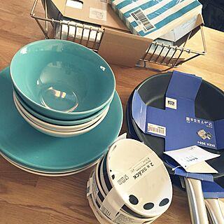 キッチン/食器/ターコイズブルー/IKEA/sea...などのインテリア実例 - 2015-03-15 12:50:01