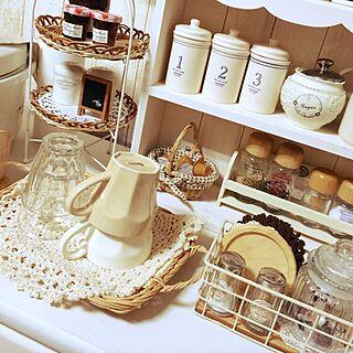 Afternoon Tea white カントリーコーナー のインテリア実例