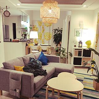 女性家族暮らし4LDK、IKEAに関するlin_yaさんの実例写真