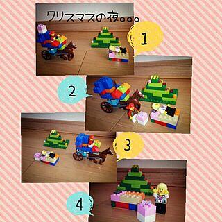 リビング/インテリアじゃなくてごめんなさい/LEGO/子どもの作品/クリスマスのインテリア実例 - 2013-11-30 20:04:30