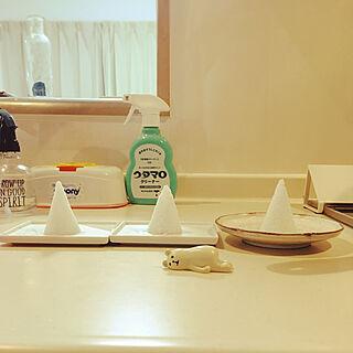 キッチン/盛り塩容器で作りました♡/盛り塩/セリア/100均のインテリア実例 - 2020-01-15 19:14:43