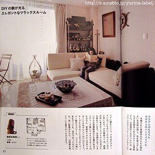 部屋全体/ご挨拶/yurina/雑誌掲載/いなちゃん...などのインテリア実例 - 2014-02-19 00:15:53