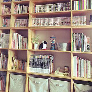 棚/ガチャ風キャンディポット/GO OUT/無印良品/DIY...などのインテリア実例 - 2015-02-08 12:14:27