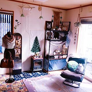 女性家族暮らし4LDK、yunちゃんのサボさん❤に関するportulacaさんの実例写真