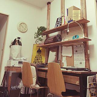 机/ニトリ/みどりの雑貨屋さん/賃貸/男前...などのインテリア実例 - 2016-06-19 22:19:47