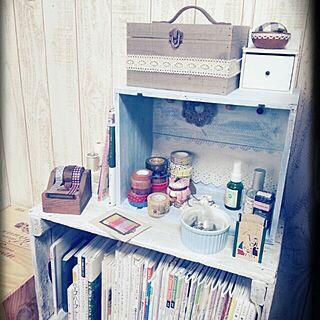 女性家族暮らし、キャベツ箱に関するamamiさんの実例写真