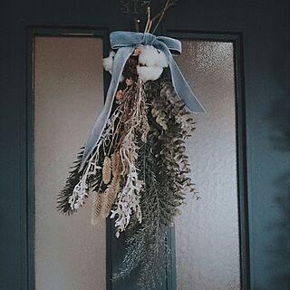 女性家族暮らし4LDK、ドライとフェイクのアレンジに関するMIARAさんの実例写真
