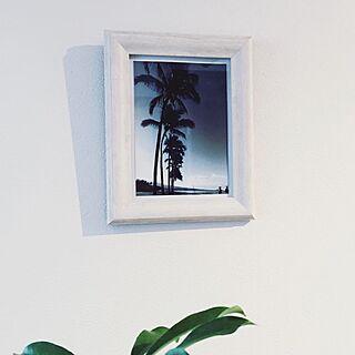 壁/天井/HAWAII/Photoフレーム/ACUTUS/観葉植物...などのインテリア実例 - 2016-11-20 18:11:30