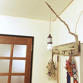 壁/天井/セリアライトリメイク/kerorinちゃん❤️/DIY/自宅サロン...などのインテリア実例 - 2018-02-23 15:13:15